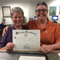 Woodworth Marriage Certificate photo