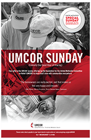 UMCOR Sunday poster