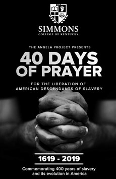 40 Days of Prayer Book cover